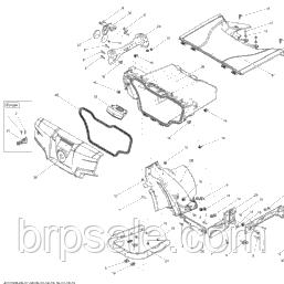 Гвинт M5x20 для квадроциклів Can-Am BRP код SCREW-SOCKET M5x20