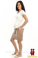 Юбочный льняной комбинезон-ТРАНСФОРМЕР для беременных