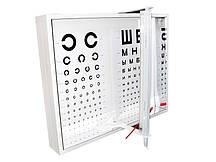 Освітлювач таблиць для перевірки зору АР-1М