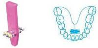 Супер микро универсальный винт на верхнюю и нижнюю челюсти Leone (Леоне) А0890-11