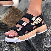 Сандалии женские Fila Disruptor Sandals (3 ЦВЕТА!), босоножки fila, сандалии фила, фото 3