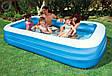 Семейный надувной бассейн Intex 58484 Прямоугольный, фото 2