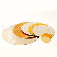 Подложка для торта двухсторонняя d=90 мм, подложки для тортов в ассортименте