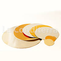 Подложка для торта двухсторонняя d=195 мм, подложки для тортов в ассортименте