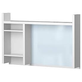 IKEA, MICKE, Высокий доп. модуль, белый, 105x65 см (901.800.25)(90180025) МИКЕ ИКЕА