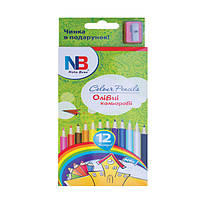 Карандаши цветные для рисования Nota Bene 12