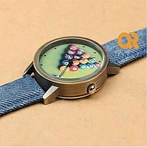 Кварцевые часы Джинс Бильярд 20181, фото 2