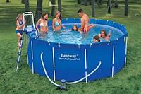 Каркасный бассейн с песочным фильтром. В наличии.