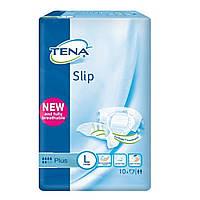 Подгузники Tena Slip Plus 3 Large (92-144 см), 10 шт. тена