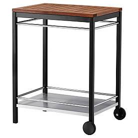 IKEA, KLASEN, Тележка, садовая, сталь нерж. черный (290.334.15)(S29033415) КЛАСЕН ИКЕА