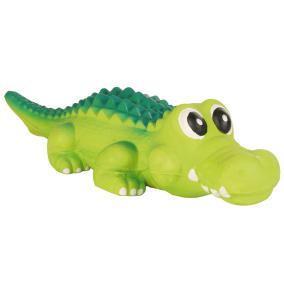 3529 Крокодил Тrixie Тріксі латекс з пищалкою для собак 35 см