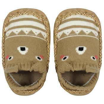 Уценка (дефекты)! Детские носки с антискользящей подошвой Мишка Berni