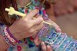 Набор резинок для плетения 5000+станок профессиональный+крючок метал, фото 5