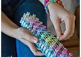 Набор резинок для плетения 5000+станок профессиональный+крючок метал, фото 7
