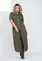 Костюм брючный с длинной рубашкой, с 48-58 размер, фото 1