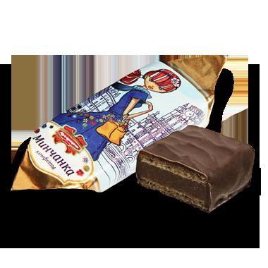 """Белорусская конфета """"Минчанка"""" вафельная ТМ Коммунарка"""