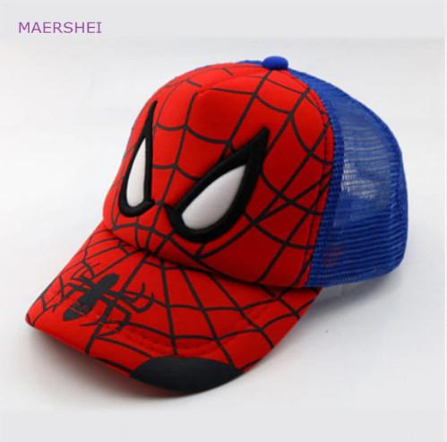 Детская яркая кепка Человек паук купить! Бейсболка детская!