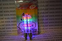 Подсветка колес, светящиеся колпачки для велосипеда (упаковка- 2 шт) 5 Led
