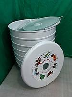 Электрическая сушилка для яблок, овощей, мяса, рыбы, трав. Объем 30л. + поддон для пастилы.