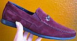 Style! Tommy Hilfiger! Мужские в стиле Томми Хилфигер бордо замшевые мокасины с пряжкой, фото 10
