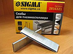 Скобы для пневмостеплера 32х5,8 мм Sigma 2816321