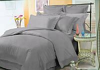 Комплект постельного белья СТРАЙП-САТИН серый