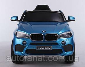Оригинальный детский электромобиль BMW X6M JJ2199 (JJ2199)