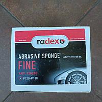 Скотч-брайт абразивная губка Radex (тонкая) Р120-180