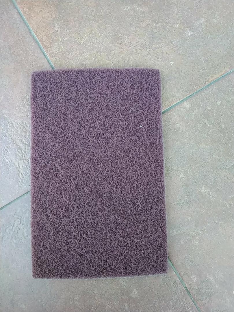 Скотч-брайт абразивная губка Radex Softmatt (фиолетовая)