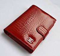 Портмоне Chanel женское красное