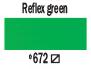 Краска акриловая AMSTERDAM, 20мл (672) Отражающий зеленый, Royal Talens,  17046720,  8712079348090