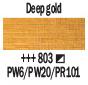 Краска акриловая AMSTERDAM, 20мл (803) Золотой темный, Royal Talens,  17048030,  8712079348120, фото 2