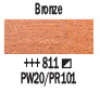 Краска акриловая AMSTERDAM, 20мл (811) Бронзовый, Royal Talens,  17048110,  8712079348144, фото 2