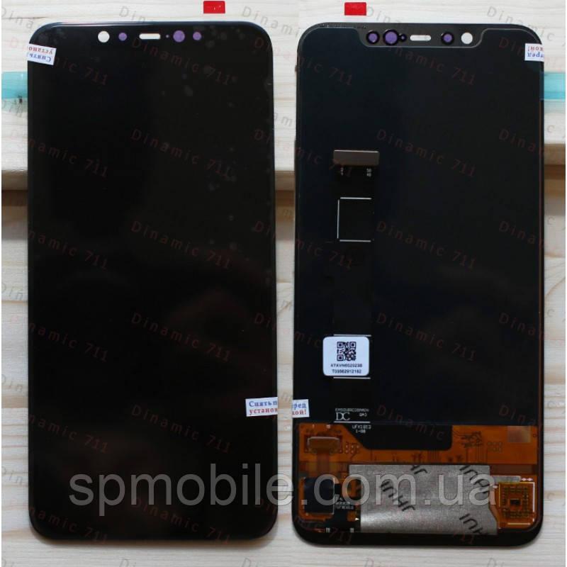 """Дисплей Xiaomi Mi 8 з тачскріном 6.21"""" (Black) Original PRC"""