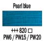 Краска акриловая AMSTERDAM, 20мл (820) Синяя перламутровая, Royal Talens,  17048200,  8712079395254, фото 2