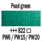 Краска акриловая AMSTERDAM, 20мл (822) Зеленая перламутровая, Royal Talens,  17048220,  8712079395278, фото 2