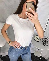 """Хлопковая женская футболка """"Аура"""" с коротким рукавом (3 цвета), фото 2"""