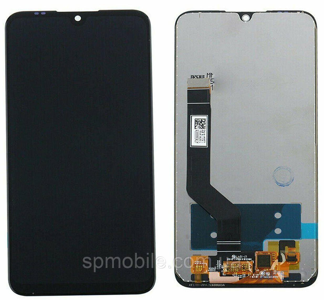 Дисплей Xiaomi Mi Play, чорний, з сенсорним екраном