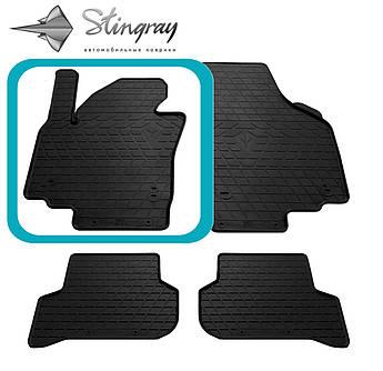 SEAT Altea XL 2009- Водительский коврик Черный в салон