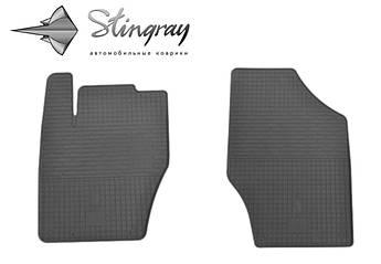 Peugeot 2008 2013- Комплект из 2-х ковриков Черный в салон