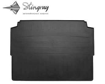 Peugeot 3008 2016- Коврик Черный в багажник