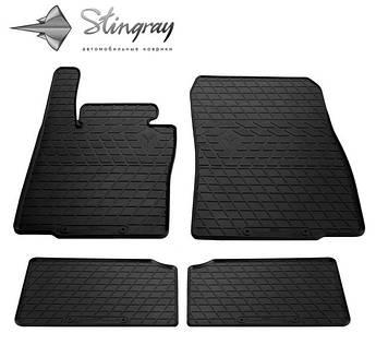 MINI Countryman (R60) 2010- Комплект из 4-х ковриков Черный в салон