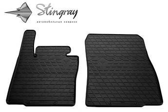 MINI Countryman (R60) 2010- Комплект из 2-х ковриков Черный в салон