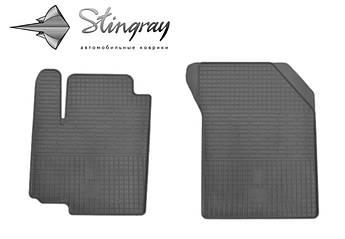Fiat SEDICI 2006- Комплект из 2-х ковриков Черный в салон