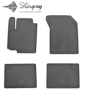 Fiat SEDICI 2006- Комплект из 4-х ковриков Черный в салон