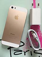Смартфон Apple Iphone 5s 16gb Gold Neverlock Б/У оригинал