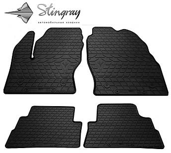 Ford Kuga 2013- Комплект из 4-х ковриков Черный в салон