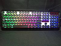Механическая клавиатура с LED подсветкой M300 + подарок