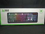 Механическая клавиатура с LED подсветкой M300 + подарок, фото 2
