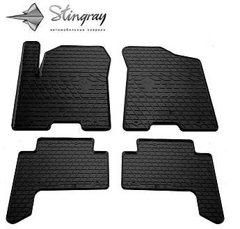INFINITI QX80 2013- Комплект из 4-х ковриков Черный в салон